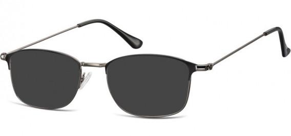 SFE-10526 sunglasses in Gunmetal/Black