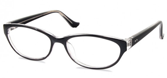 SFE-10579 glasses in Black/Clear