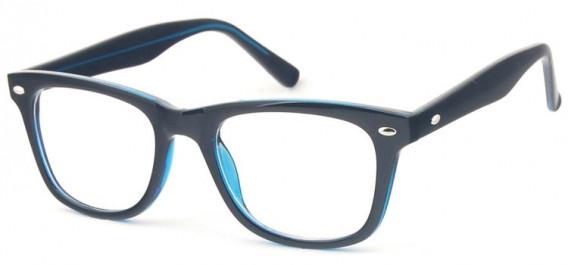 SFE-10574 glasses in Black/Turquoise