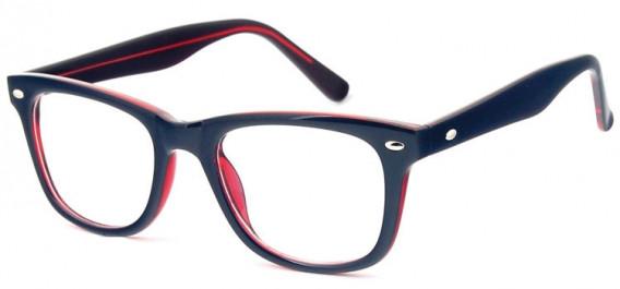 SFE-10574 glasses in Black/Burgundy