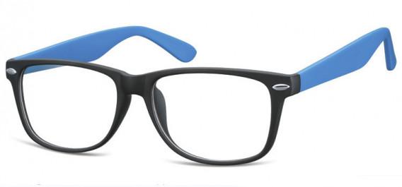 SFE-10569 glasses in Matt Black/Blue
