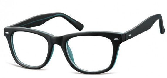 SFE-10566 glasses in Matt Black/Blue