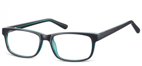 SFE-10558 glasses in Black/Green
