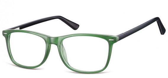 SFE-10557 glasses in Black/Green