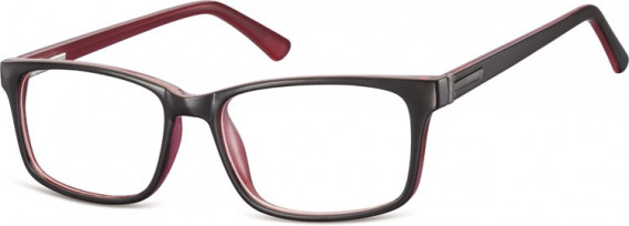 SFE-10554 glasses in Black/Rose