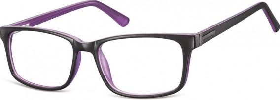 SFE-10554 glasses in Black/Purple