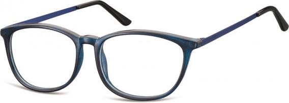 SFE-10549 glasses in Clear Dark Blue