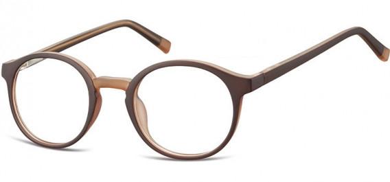 SFE-10544 glasses in Dark Brown/Light Brown