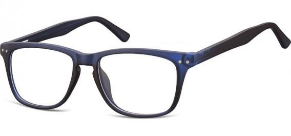 SFE-10543 glasses in Clear Dark Blue