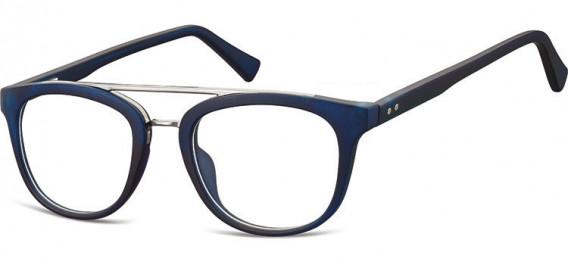SFE-10542 glasses in Clear Dark Blue