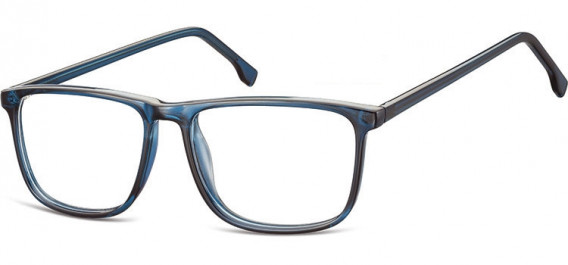 SFE-10539 glasses in Clear Dark Blue
