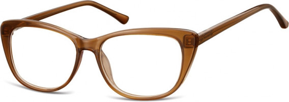 SFE-10537 glasses in Clear Brown