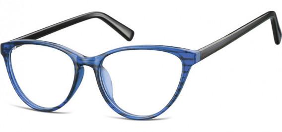 SFE-10535 glasses in Clear Blue/Black