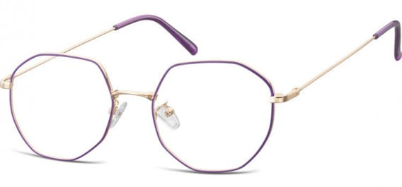 SFE-10530 glasses in Pink Gold/Purple