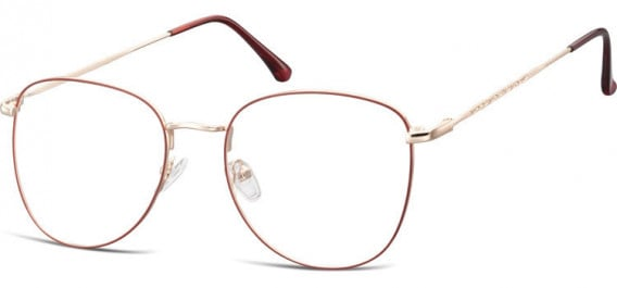 SFE-10529 glasses in Pink Gold/Red