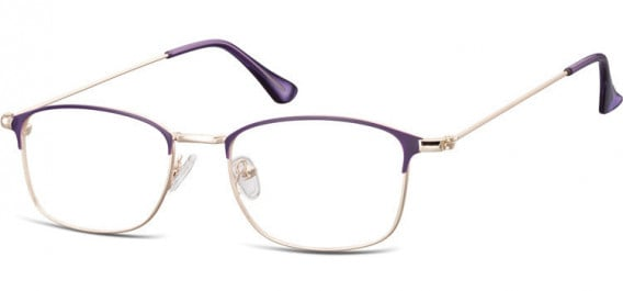 SFE-10526 glasses in Pink Gold/Purple