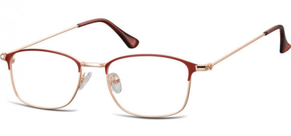 SFE-10526 glasses in Pink Gold/Red