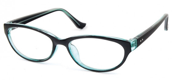 SFE-10579 glasses in Black/Clear Blue