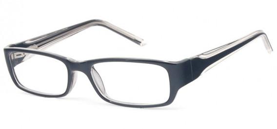 SFE-10578 glasses in Black/Clear Grey