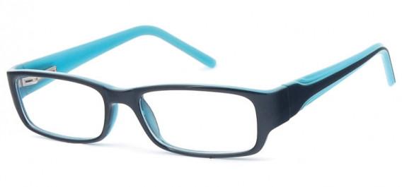 SFE-10578 glasses in Black/Blue
