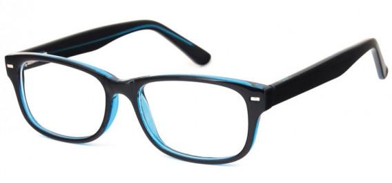 SFE-10577 glasses in Black/Blue