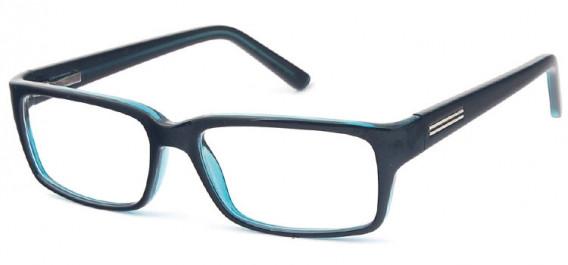 SFE-10576 glasses in Black/Blue
