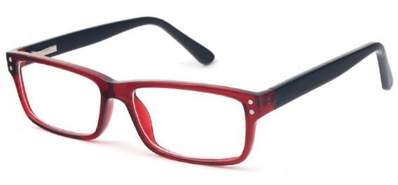 SFE-10575 glasses in Burgundy/Black