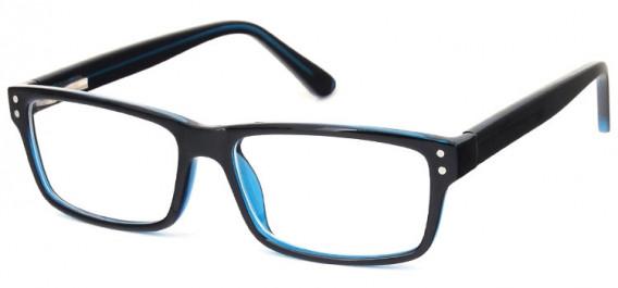 SFE-10575 glasses in Black/Blue