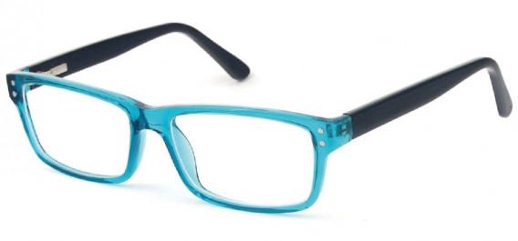 SFE-10575 glasses in Turquoise/Black