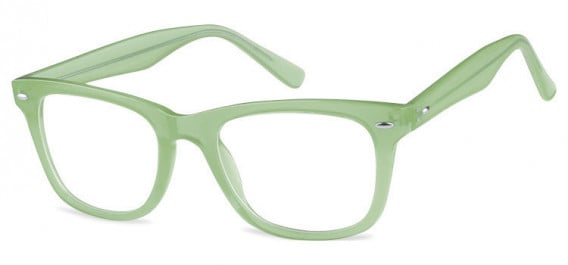 SFE-10573 glasses in Clear Green