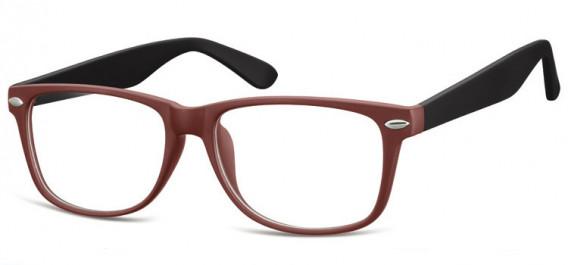 SFE-10569 glasses in Matt Burgundy/Black
