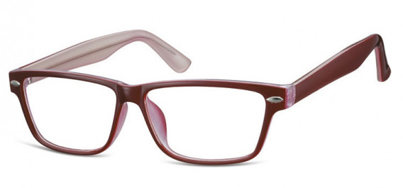SFE-10568 glasses in Red/Clear