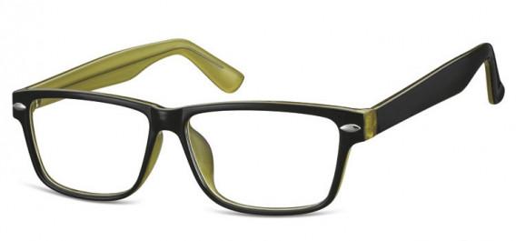 SFE-10568 glasses in Black/Green
