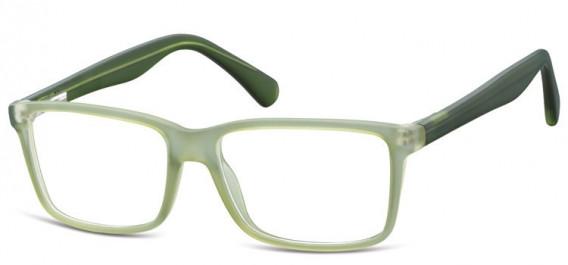 SFE-10565 glasses in Matt Clear Green