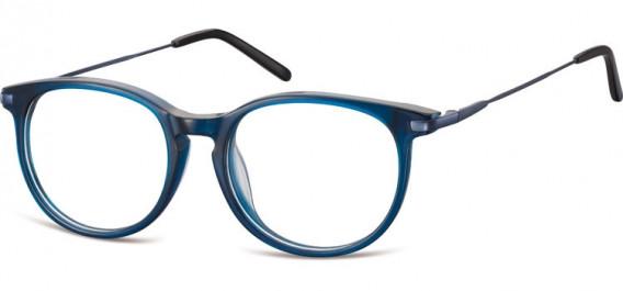 SFE-10553 glasses in Clear Dark Blue