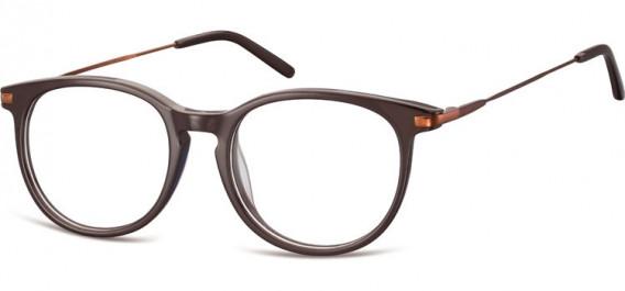 SFE-10553 glasses in Dark Brown