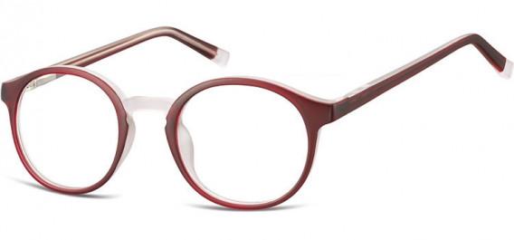 SFE-10544 glasses in Burgundy/Transparent
