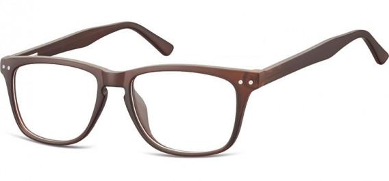SFE-10543 glasses in Dark Clear Brown