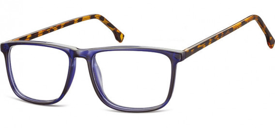 SFE-10539 glasses in Blue/Turtle Mix