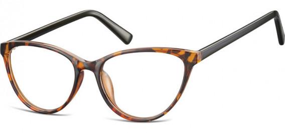 SFE-10535 glasses in Clear Turtle/Black