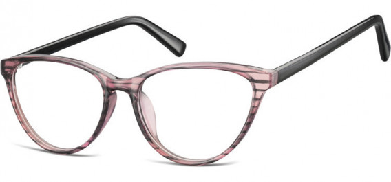 SFE-10535 glasses in Clear Pink/Black