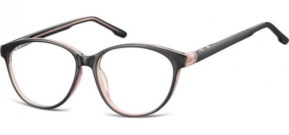 SFE-10534 glasses in Black/Light Pink