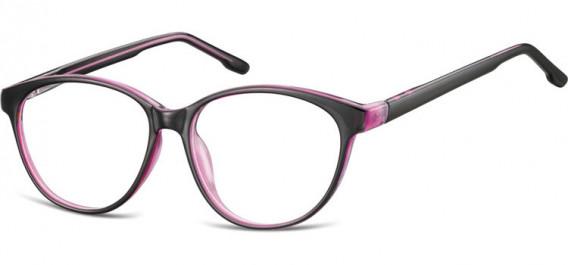 SFE-10534 glasses in Black/Purple