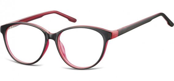SFE-10534 glasses in Black/Pink