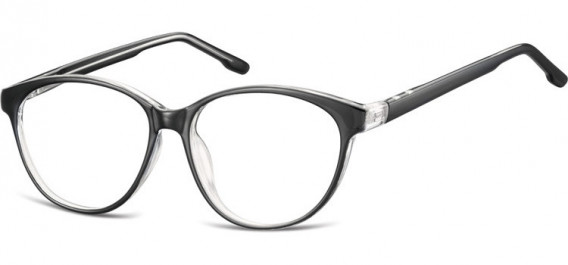 SFE-10534 glasses in Black/Transparent