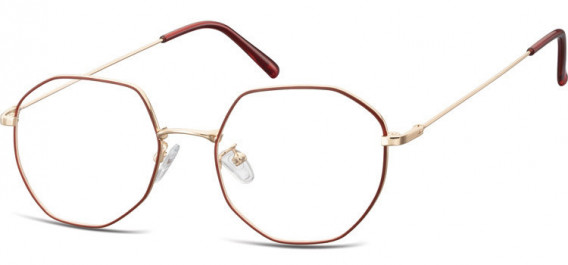 SFE-10530 glasses in Pink Gold/Red