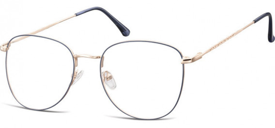 SFE-10529 glasses in Pink Gold/Blue