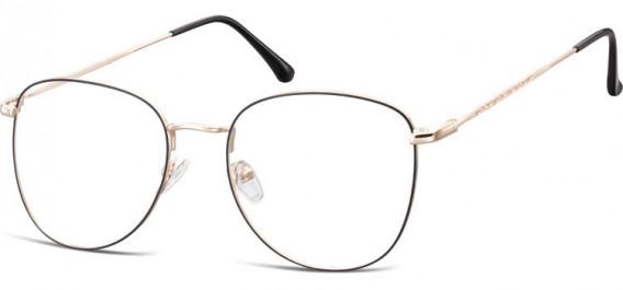 SFE-10529 glasses in Pink Gold/Black