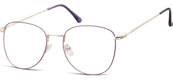 SFE-10529 glasses in Pink Gold/Purple