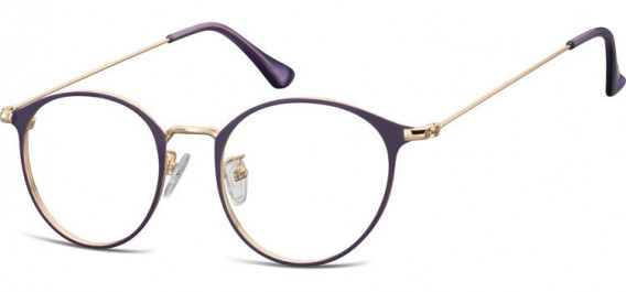 SFE-10528 glasses in Pink Gold/Purple